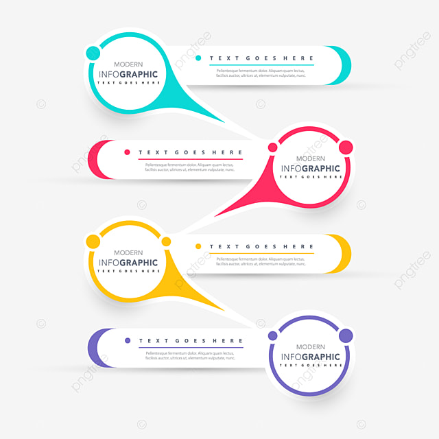 infographic pr u00e9sentation conception r u00e9sum u00e9 banner business png et vecteur pour t u00e9l u00e9chargement