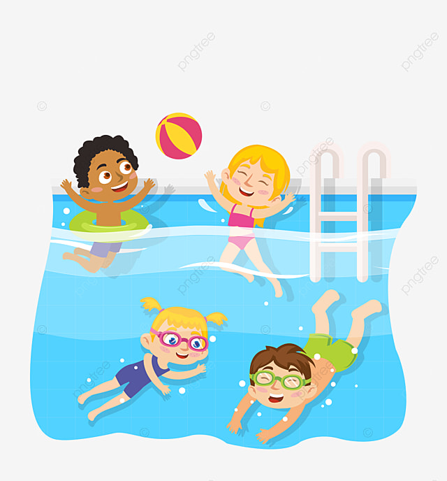 Kid swimming pool vecteur piscine gar on png et vecteur pour t l chargement gratuit How to draw swimming pool water