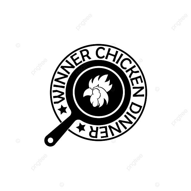 Winner Chicken Dinner Badge Pubg Game Game Gaming Badge Png And