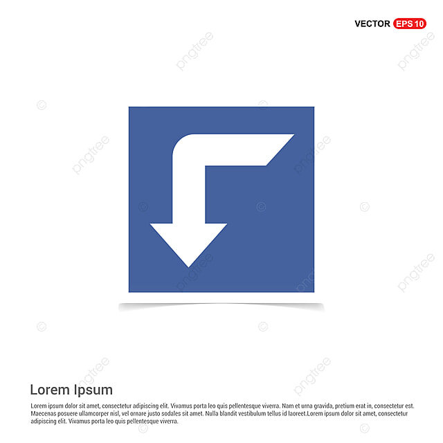 Down Arrow Icon - Blue Photo Frame, App, Arrow, Background PNG and ...