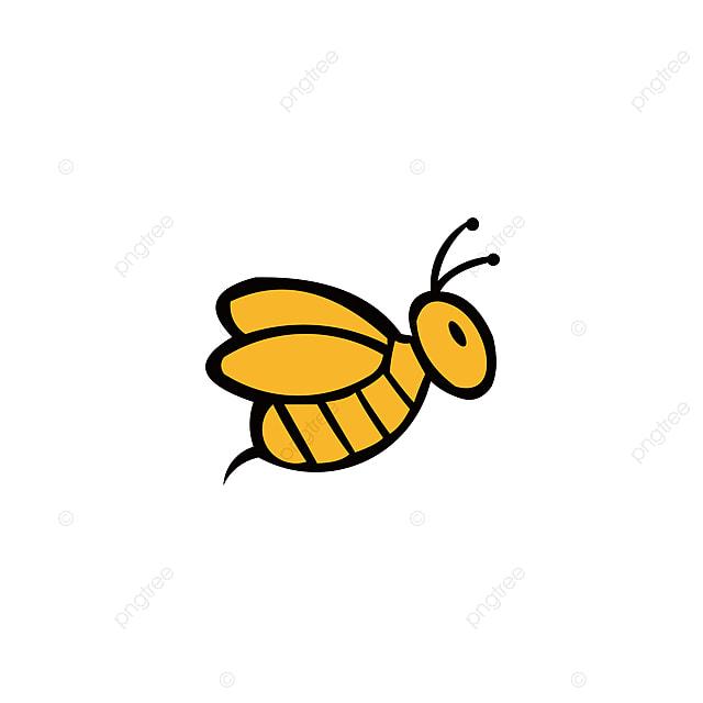 Bee Haiwan Ikon Madu Terbang Bee Serangga Bug Serangga Api Bee Lebah