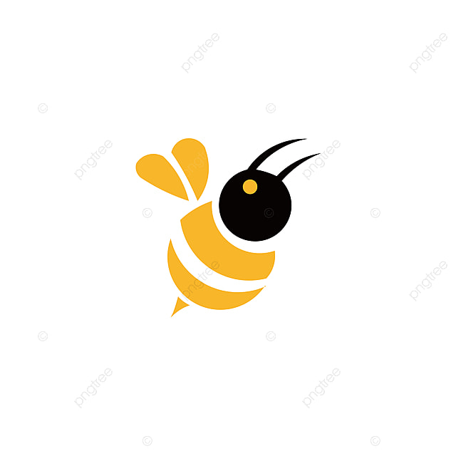 Lebah Haiwan Ikon Madu Lebah Terbang Serangga Bug Serangga Api Bee