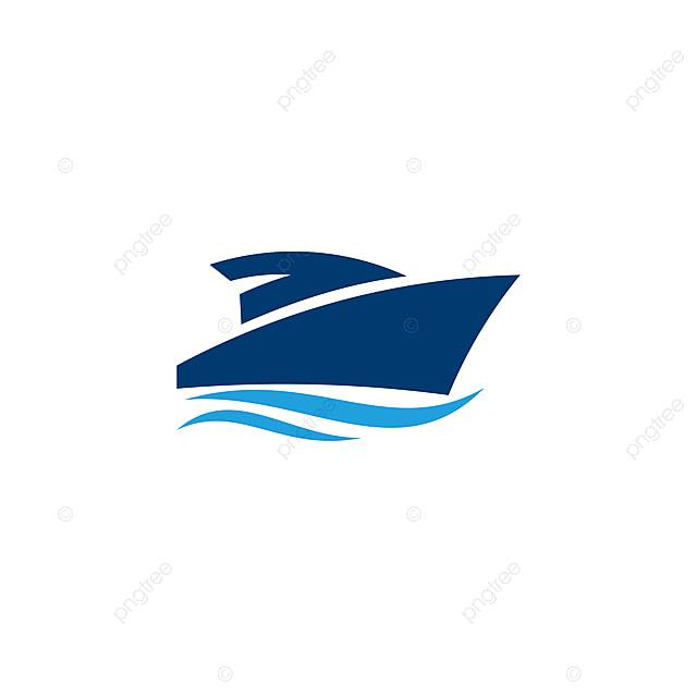 logo de navigation maritime bateau bateau vecteur bateau