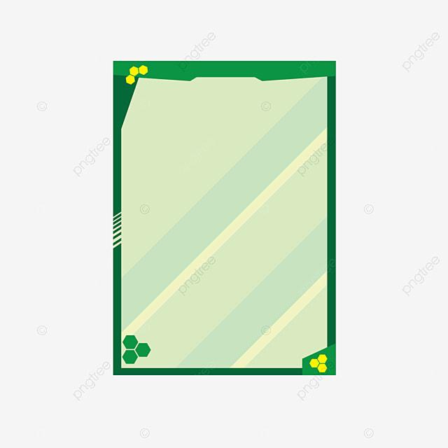 Kreatives Material Design Für Flache Spiegel Flugzeug Spiegel Grüne