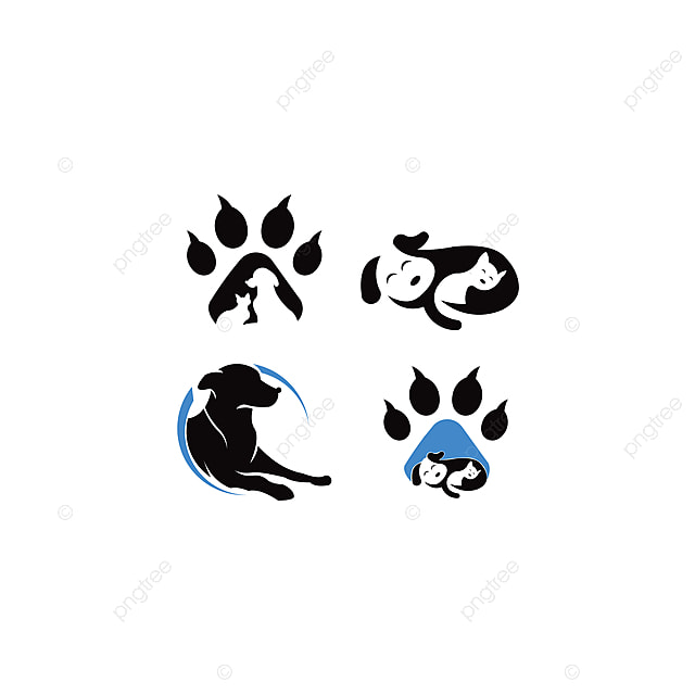 Pets Vector Logo Template This Cat And Dog Logo Could Be