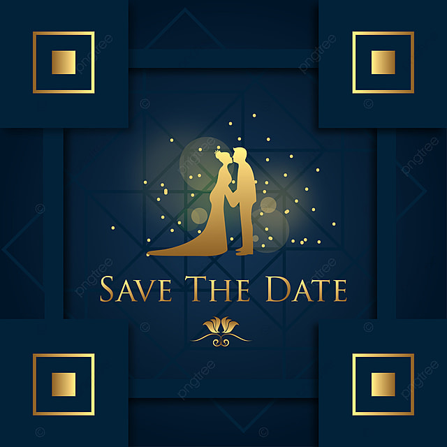 Save The Date Background Template, Wedding, Mandala