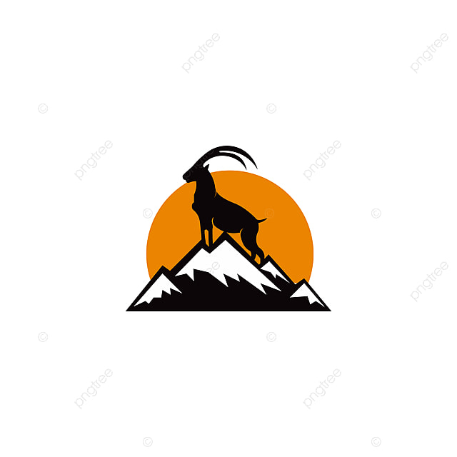 Image of: Funny Cartoon Silhouette Of Mountain Mammal Goat Animal Animal Art Element Png Pngtree Silhouette Of Mountain Mammal Goat Animal Animal Art