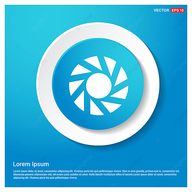 camera shutter icon camera shutter color png and vector for free
