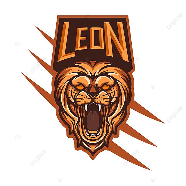 Leon Esports Mascot Logo Design