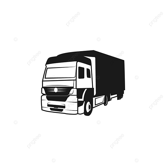 truck silhouette a logo design inspiration logotipo