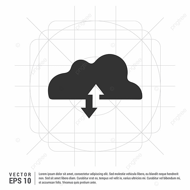 Upload Download Cloud Icon, Background, Business, Cloud PNG