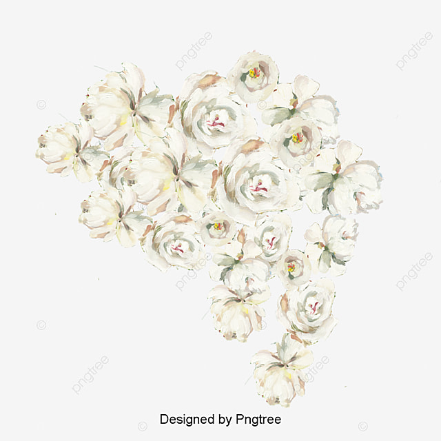 Aesthetic artificial pretty simple flowering picturesque www beautiful cartoon white rose flower decorative elements simple hand painted aesthetic png jpg 640x640 aesthetic artificial mightylinksfo