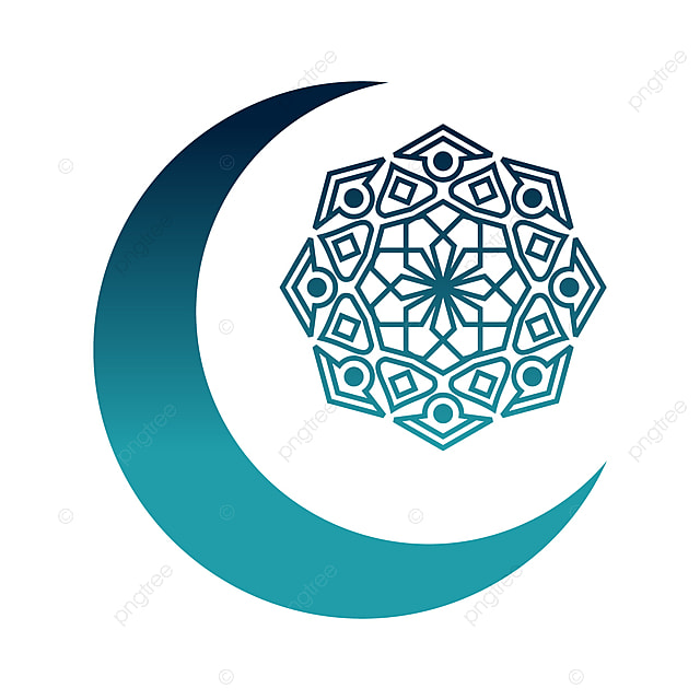 crescent moon islamic design with mandala eid al adha crescent moon ornament png and vector with transparent background for free download crescent moon islamic design with