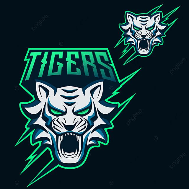 Tigers Esports Mascot Logo Design