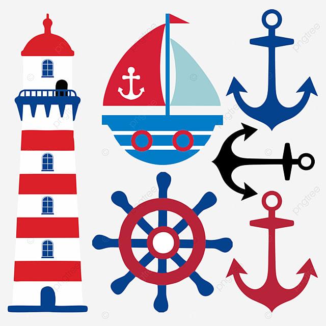 Barco Ancla Timon Faro Barco Ancla Timon Imagen Png Para Descarga