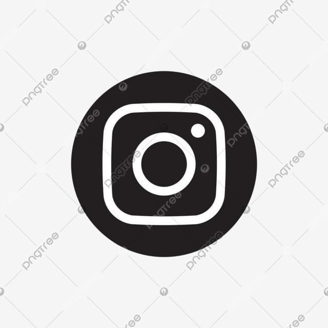 Vector Illustration Instagram: Instagram Social Media Icon Design Template Vector, Simple