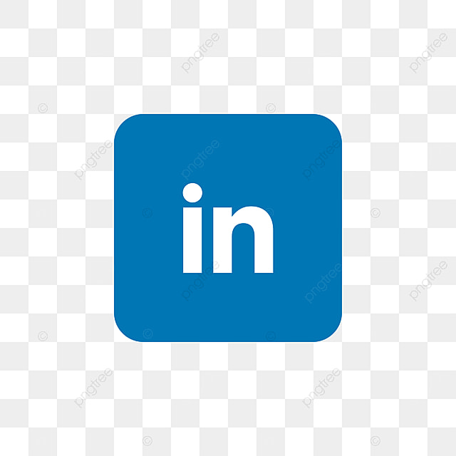 Linkedin Social Media Icon Design Template Vector Icon