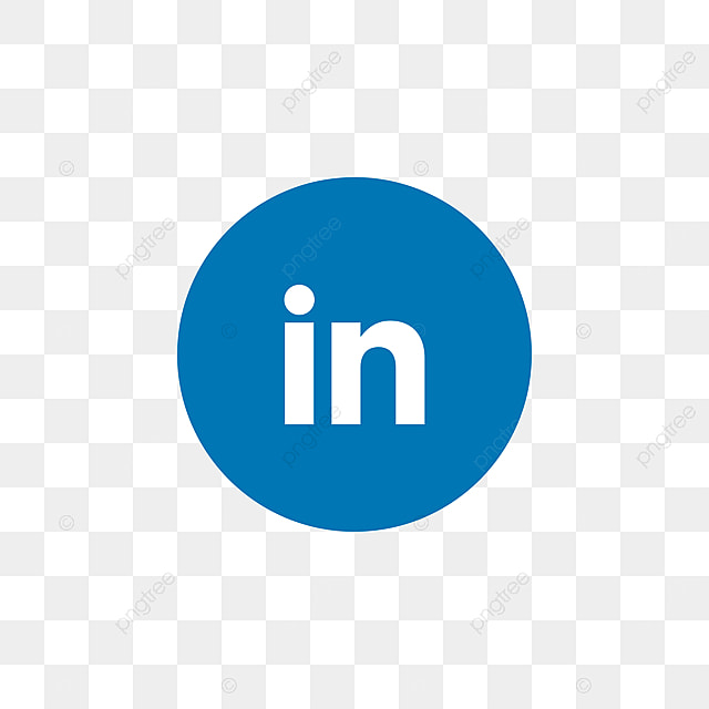 Linkedin Social Media Icon Design Template Vector Linkedin