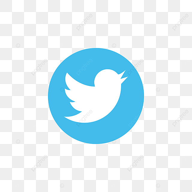 Twitter Social Media Icon Design Template Vector, Twitter