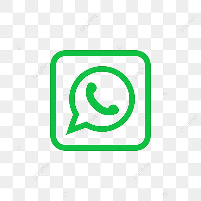 Whatsapp Social Media Icon Design Template Vector Whatsapp