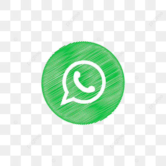 whatsapp social media icon design template vector abstract