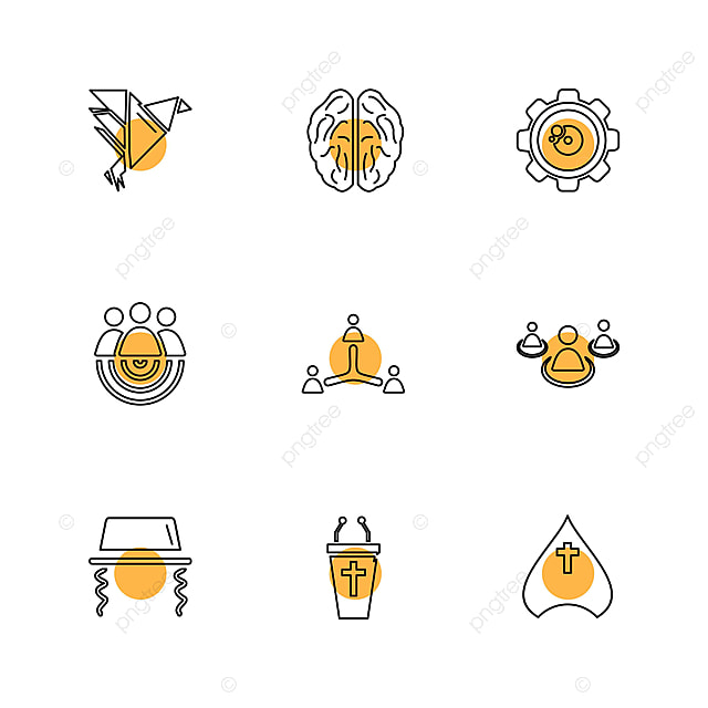 9 Vector Icon Packs, Study, Calculator, Video PNG and Vector