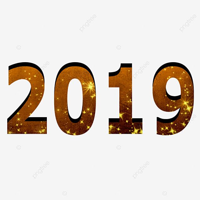 nouvelle ann u00e9e 2019 les chiffres 2019 la nouvelle ann u00e9e png et vecteur pour t u00e9l u00e9chargement gratuit