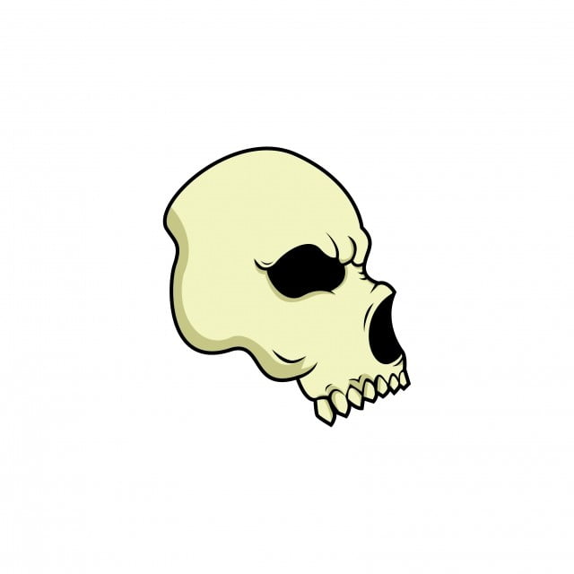 Skeleton Head Background Design, Skull, Terror, Shooting PNG and ...