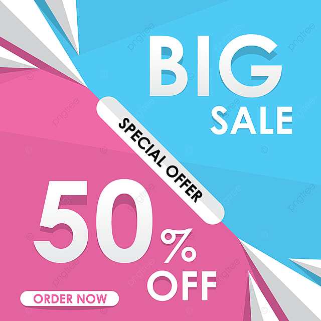 big sale template design abstract advertising background png and