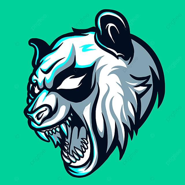 Wild Panda Esports Mascot Logo Design
