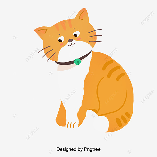 Cartoon Cat Background Cat Clipart Cats Animals Png Transparent Clipart Image And Psd File For Free Download