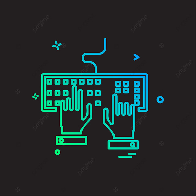 la conception du vecteur vecteur clavier conception png et