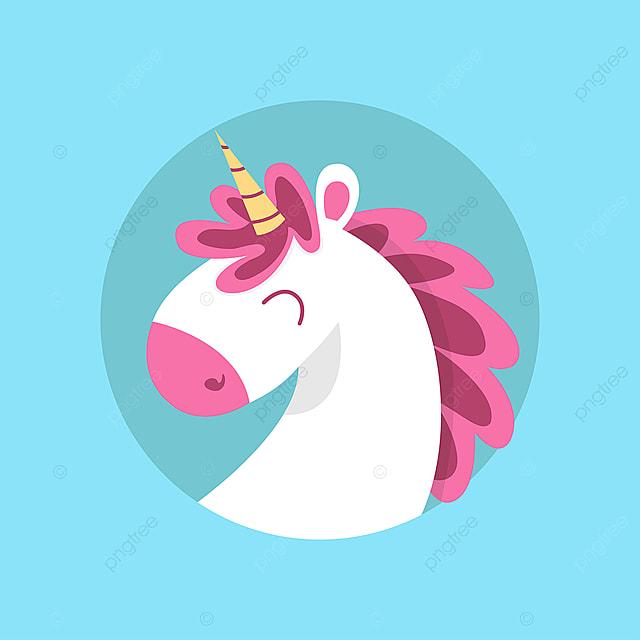 realistic unicorn face