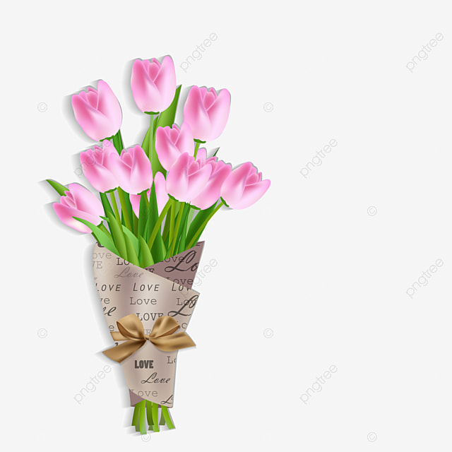 Latar Belakang Musim Semi Yang Indah Dengan Gambar Vektor Bunga Tulip Tulip Bulat Berbunga Png Dan Vektor Dengan Latar Belakang Transparan Untuk Unduh Gratis