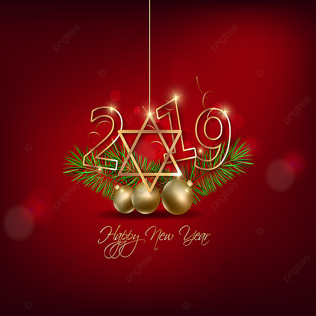 Happy New Year 2019 And Mery Christmas Chinese New Year, Happy ...