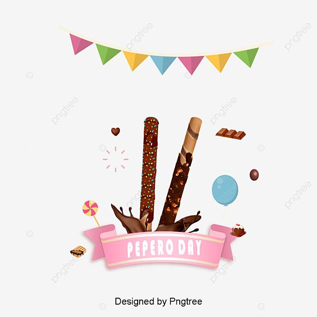 韓国スタイルチョコレートかわいい装飾的なイラスト 韓国 祝祭