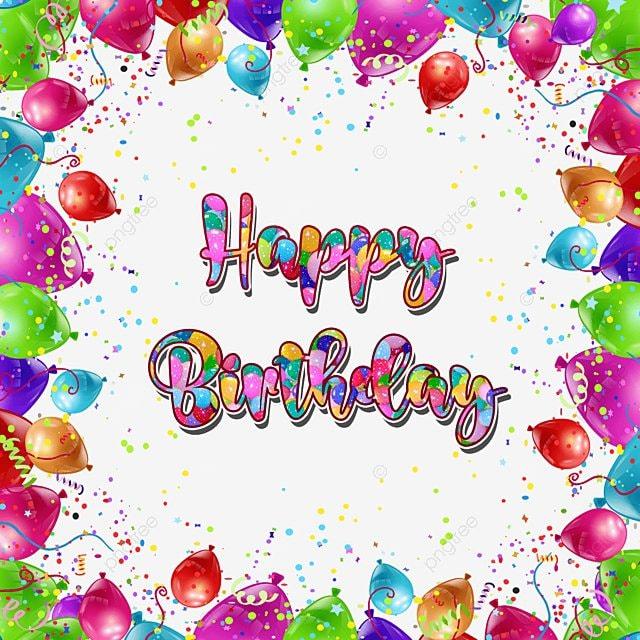 Balloon Decoration For Birthday Party Invitation Card Birthday