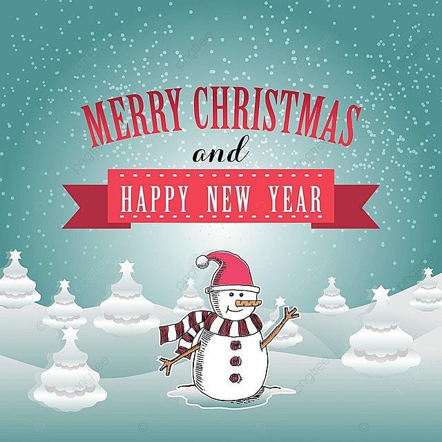 Selamat Hari Natal Dan Bahagia Tahun Baru Bentuk Kad Ucapan Krismas White Christmas Snow Gambar Png Dan Psd Untuk Muat Turun Percuma