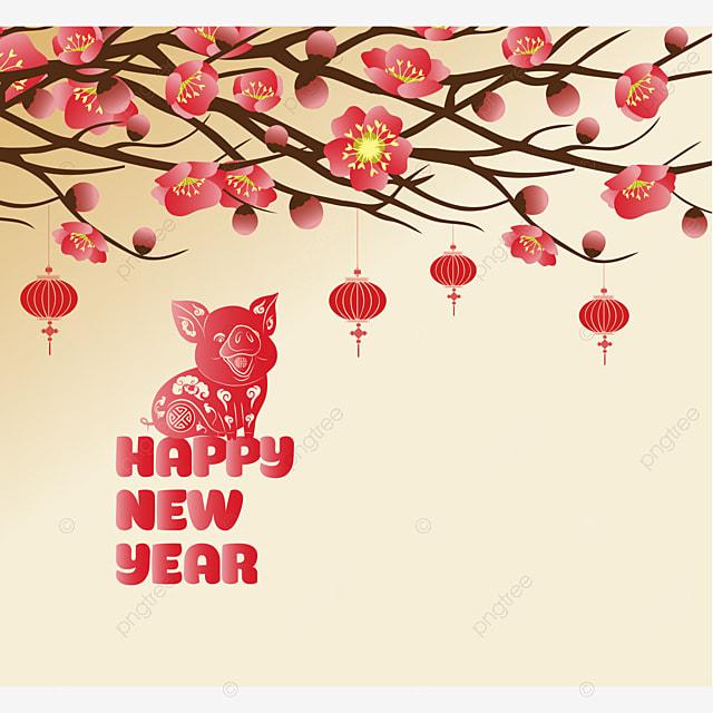Картинки с китайским новым годом с поздравления