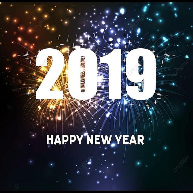 Fuegos Artificiales De Ano Nuevo Feliz 2019 Fuegos Artificiales 2019