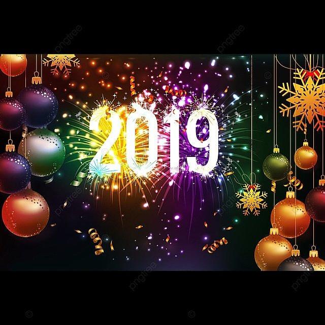 Feliz Ano Nuevo Navidad 2012 Fondo Con Confeti Dorado Y Negro