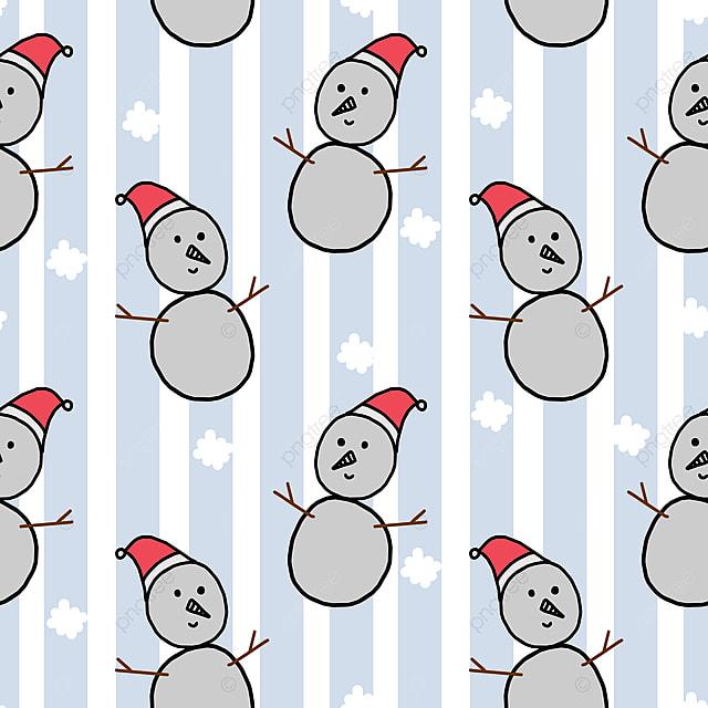 Lindo Muñeco De Nieve Navidad Dibujo Patron Para Invierno Para Bebe ...