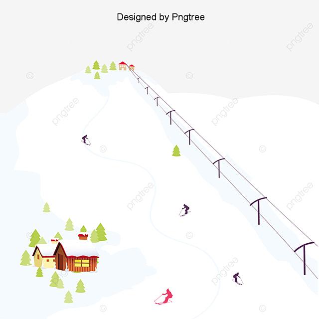 skier l hiver des  u00e9l u00e9ments de paysage neige ski