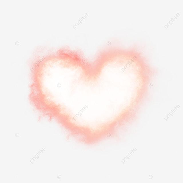 beautiful pink smoke heart shaped elements  pink  smoke