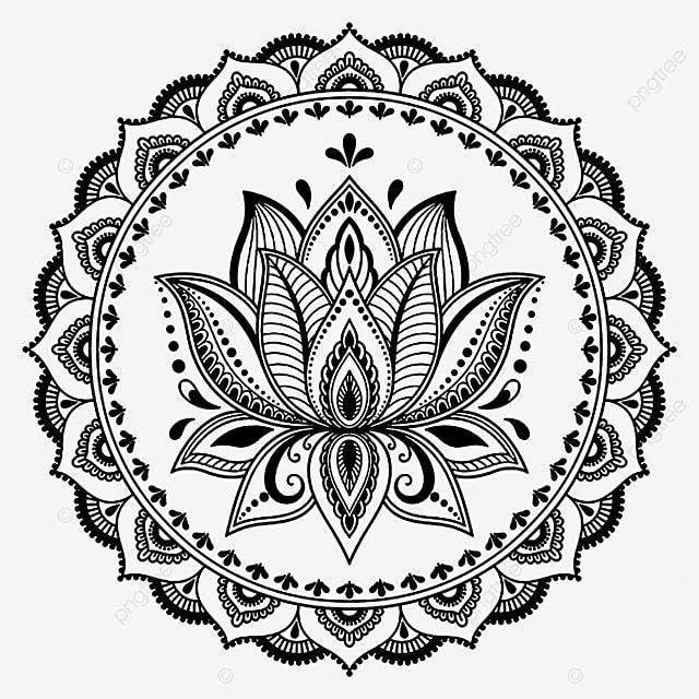 Lostus Flower* Tattoo,vector,artwork,floral, Lotus Flower