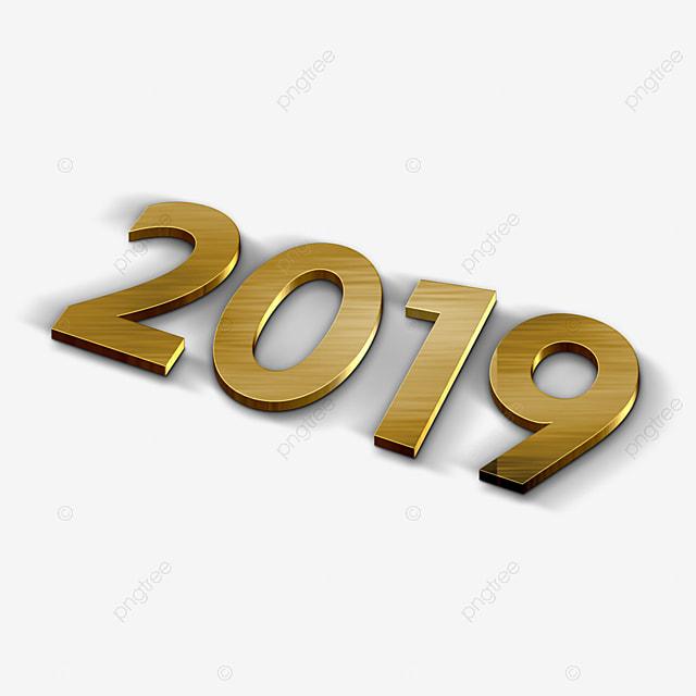 Kalender 2019 Bunte Template Vector Illustration Desk Buro Im Neuen