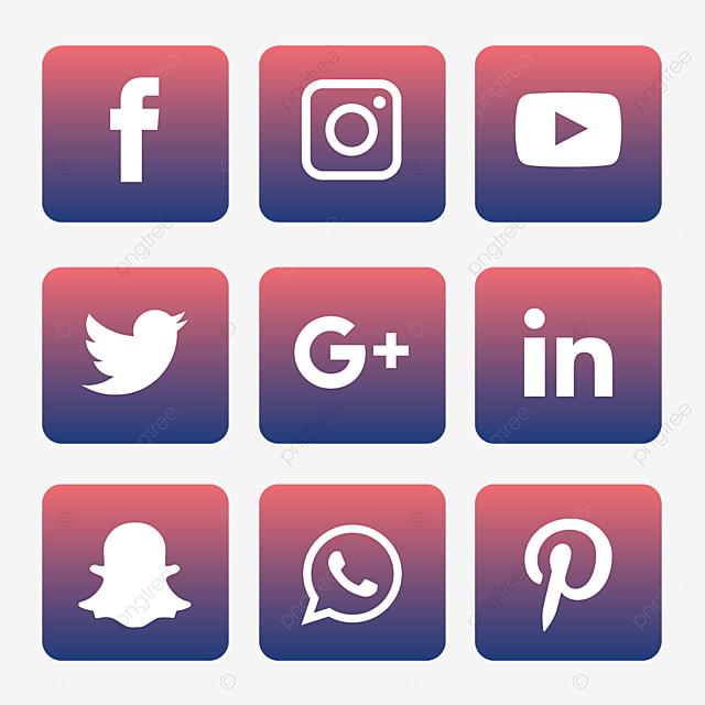 social media logo vectors