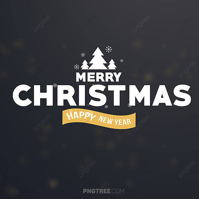 classic merry christmas banner design christmas eve happy png and psd