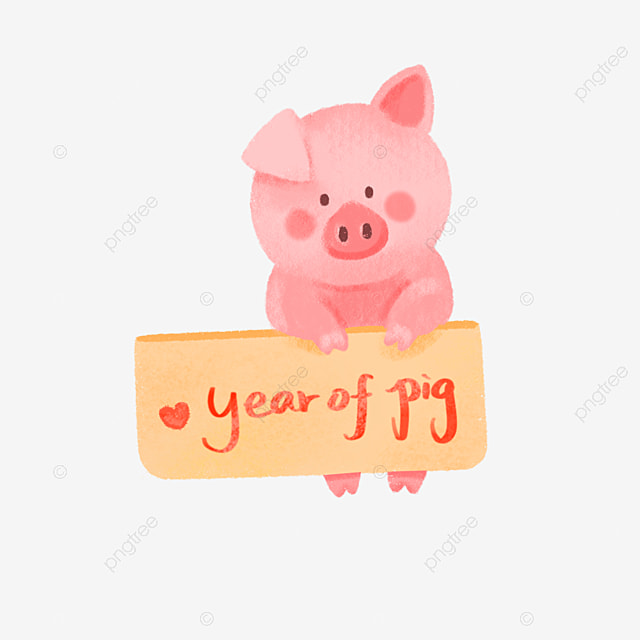 Hand Drawing 2019 Chinese Year Of Pig 2019 Chinese New Year Year