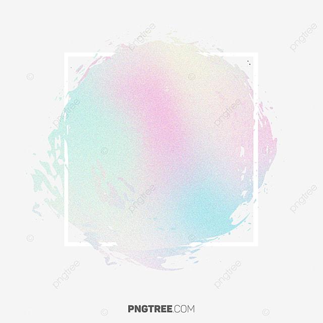 Hologram Design Pastel Watercolor Border, Frame, Pastel ...